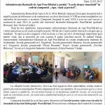 Reportaj Galati scoli
