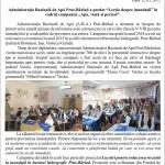 Reportaj Vaslu scoli