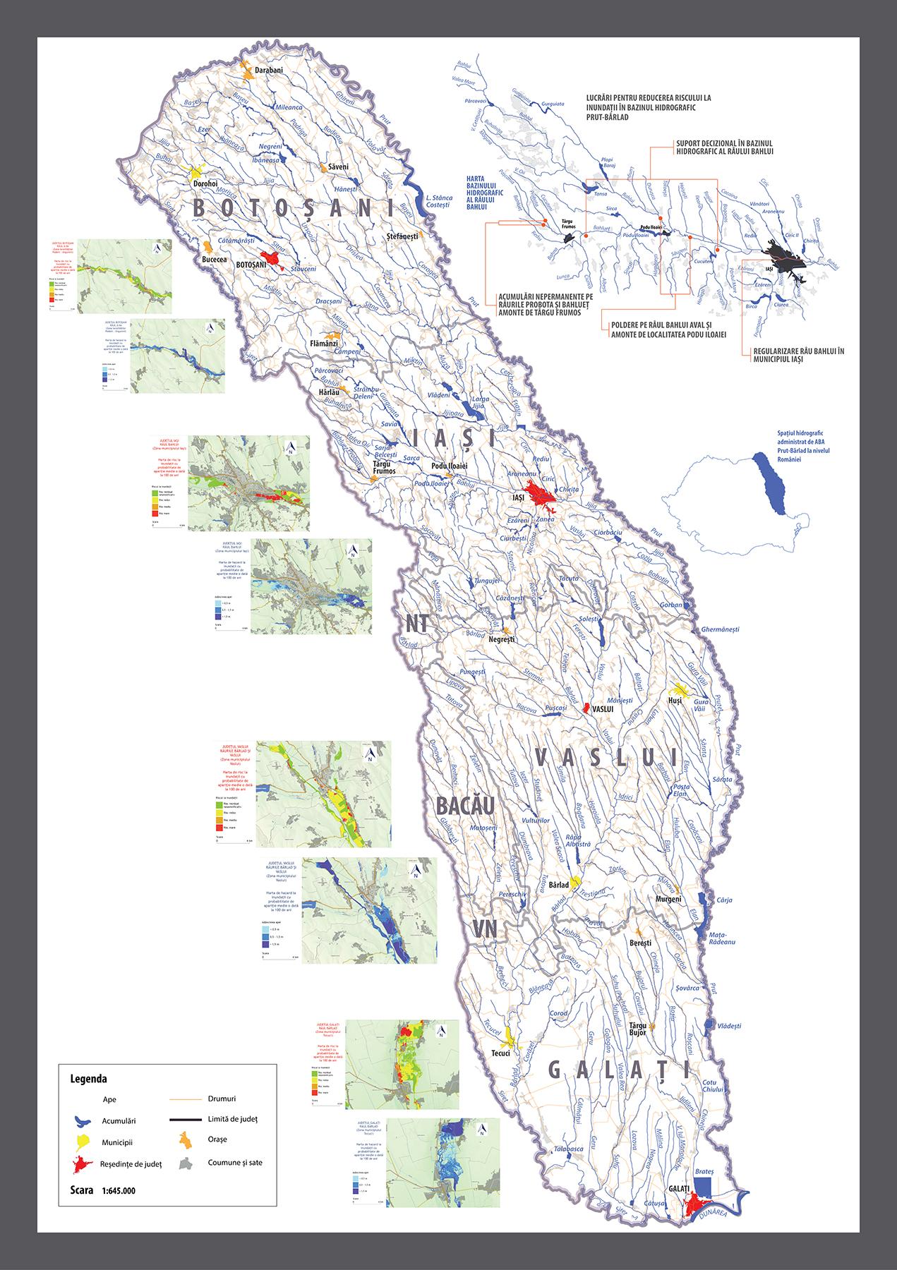 Harta Fazare Proiect Lucrări Pentru Reducerea Riscului La